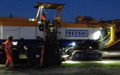 Succesvolle eerste inzet Road Profiler voor Freesmij op N381 Drachten – Drentse grens