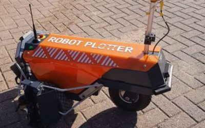 Robot Plotter delivered to Rasenberg