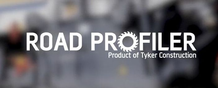 Road Profiler integrated with asphalt milling machine