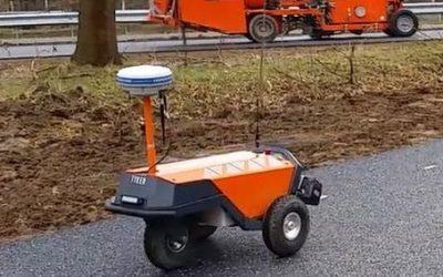 Robot Plotter voor Van Rens mobiliteit