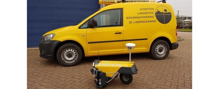 Robot Plotter delivered to De Landmeetdienst
