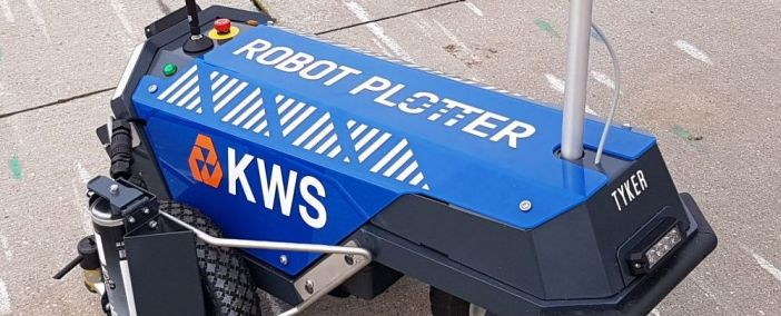 Robot Plotter voor KWS Infra