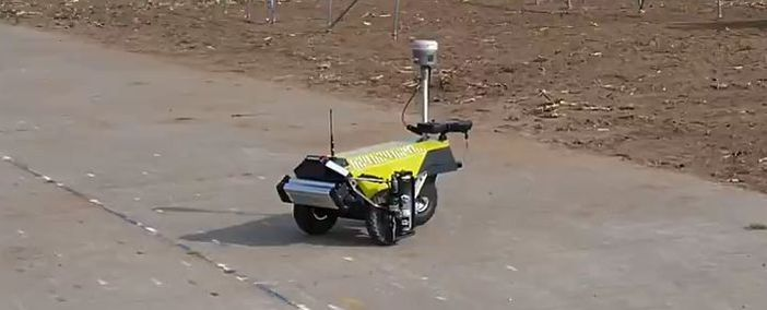 Robot Plotter delivered to Geomaat