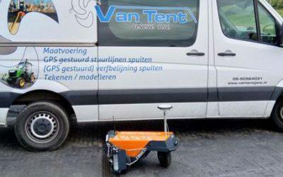 Robot Plotter geleverd aan Van Tent GWW