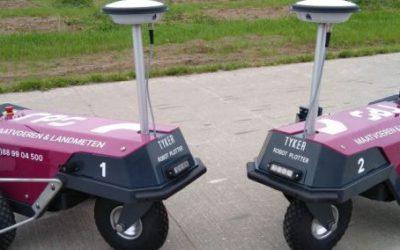 2 Robot Plotters geleverd aan RPS