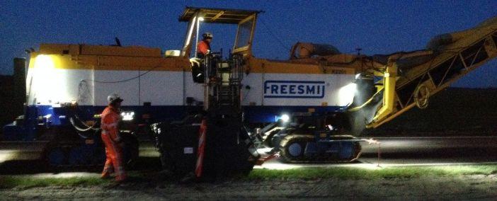 Erfolgreicher erster Einsatz von Road Profiler für Freesmij an den N381 Drachten – Grenze Drenthe