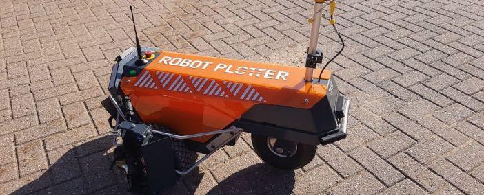 Robot Plotter geliefert an Rasenberg