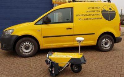 Robot Plotter für De Landmeetdienst
