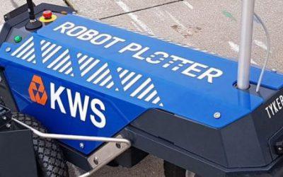 Robot Plotter für KWS Infra