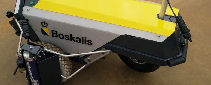 Robot Plotter geliefert an Boskalis