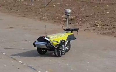 Robot Plotter geliefert an Geomaat