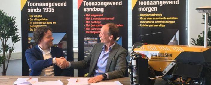 Van Velsen und Tyker gehen strategische Kooperation ein