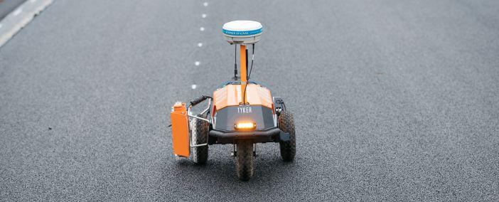 Präzision von MoveRTK für die Robotisierung im Straßenbau