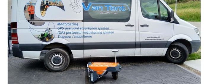 Robot Plotter geliefert an Van Tent GWW