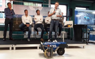 Presentation des Robot Plotters mit VolkerWessels