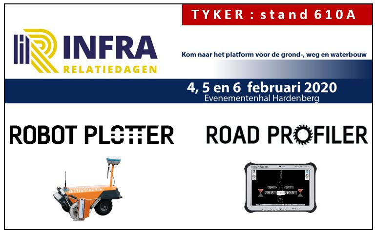 Tyker is this year again present at the Infra Relationdays