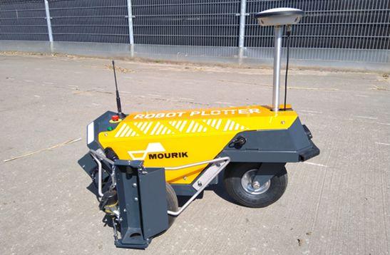 Robot Plotter geleverd aan Mourik