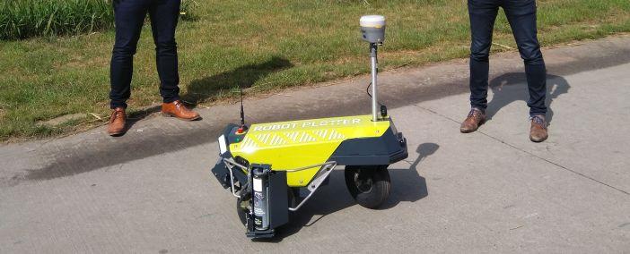 Zweiter Robot Plotter an Geomaat geliefert