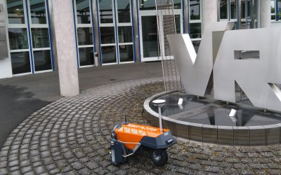 Robot Plotter crosses the border into Germany: Volkmann & Rossbach has the scoop