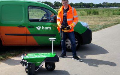Die BAM besitzt auch einen Robot Plotter